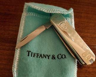 Tiffany and Co. Victorinox .925 Sterling Silver Swiss Army knife