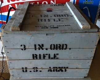 Vintage Wood Ordinance Army Crate