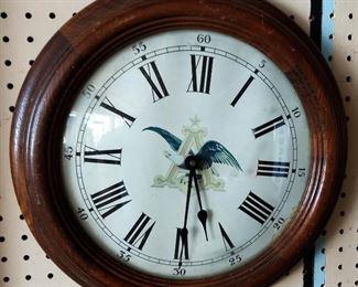 Vintage Anheiser Wall Clock