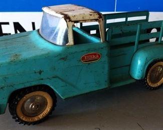 Vintage Metal Tonka Pickup Truck
