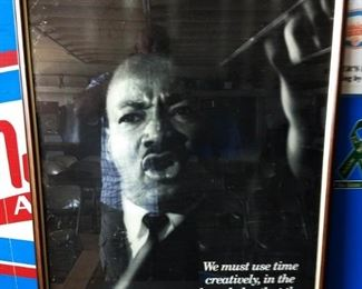 Martin Luther King, Jr. Poster, Framed