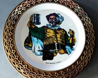 Vintage Falstaff Advertising Plate