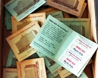 Box Lot- Vintage Life Insurance Promotion Packet