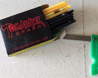Tomahawk Brand Pen Knives