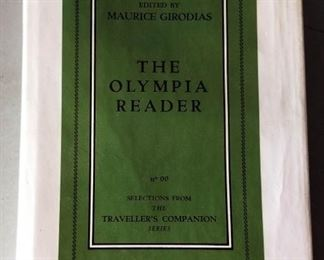 "Vintage Erotica Literature- ""The Olympia Reader"""