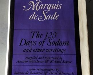 "Vintage Erotica Literature- ""The Marquis de Sade"" (First American Edition)"