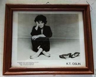Autographed Picture- K. T. Oslin