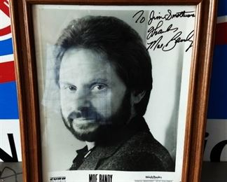 Autographed Picture- Moe Bandy