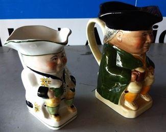Vintage Toby Mugs