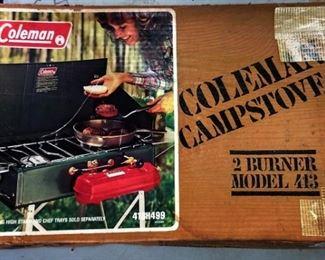 Coleman Campstove, NOS