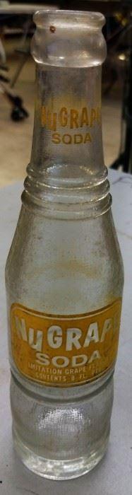 Vintage Nu-Grape Bottle