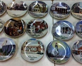 1980-1993 Smucker's Christmas Plates
