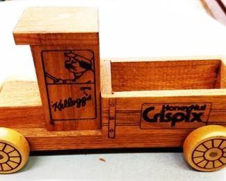 Vintage Wood Kellogg's Truck