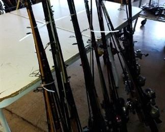 Fishing Poles and Reels
