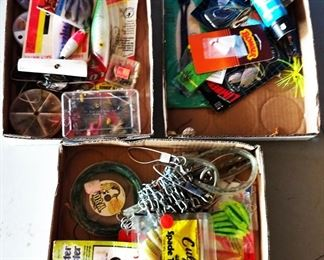Box Lots- Fishing Lures, More