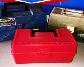 Tackle Boxes, Tool Boxes
