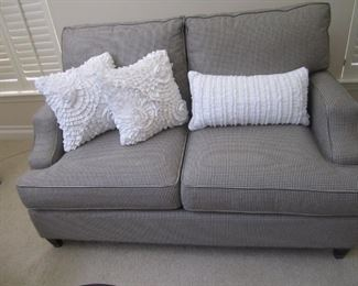 PAIR OF LOVESEAT BY BASSETT FURNITURE
