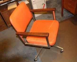 Mid century office chair.