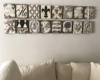 Sid Dickens Retired Memory Blocks Wall Tiles (16)
