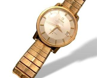 Pie Pan Constellation Omega Watch.