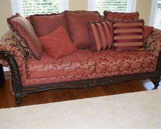 """90"""" W X 36"""" D. Decorators Sofa"""