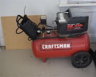 Craftsman 2 HP 12 GAL Air Compressor
