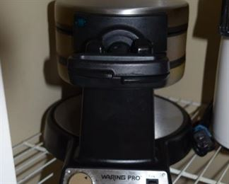 Waring Pro Professional Double Waffle Maker