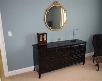 Bassett Dresser Painted Black