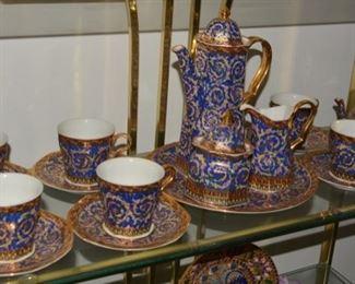 Nice Russian Gilt China Tea Set