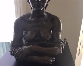 Sir Jacob Epstein Bronze Bust