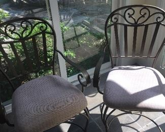 Wrought Iron Chairs