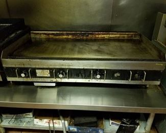 Star Flat Top Griddle 48in