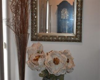 Beautiful Wall Mirror and Arrangements