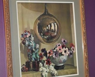 Beautifully Framed Oil Painting by H. Davis Richter.