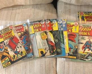 Lots of comics of various runs and varying conditions. Most are in great condition. Many more not photographed!