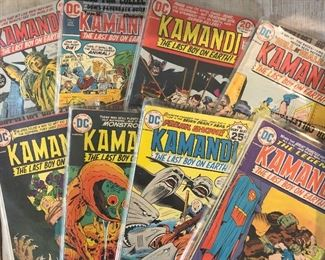 Entire run of Kamandi in excellent condition (not all in photo)!