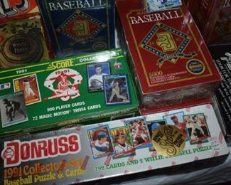 Large Collection of Baseball Cards