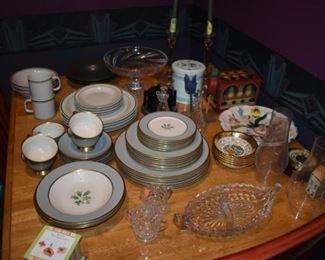 China, Glassware and more