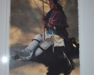 """American Indian Art Limited Edition Cherokee 1999 - entitled """"Diamond and River Cane Bow"""", # 2 of 273 by T.L. Schmidt"""