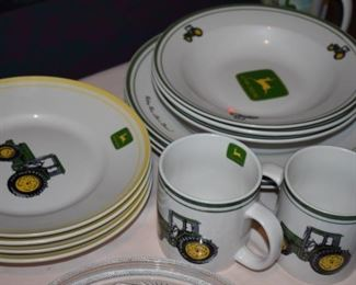 John Deere China - Plates, Cups and Bowls