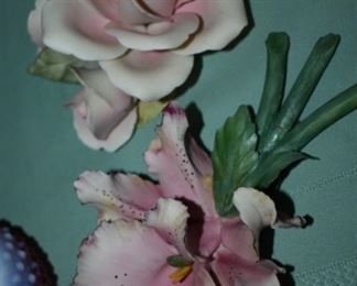 Gorgeous Capodimonte Flowers