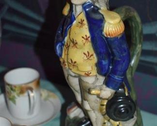 Vintage/Antique George Washington Figural Pitcher