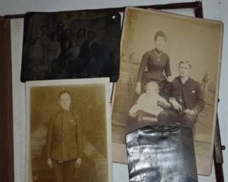 Many Antique Photograph Albums and Pictures  in this Estate including Tin Types