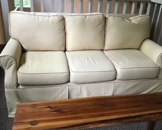 3 seat sofa and custom table