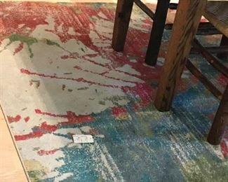 thrown rug