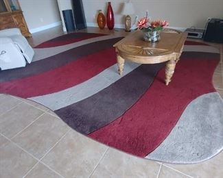 Area Rug, Decorative Pieces, Coffee Table