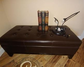 Storage Trunk, Leather