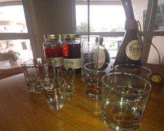 Bar accessories-Jack Daniels Glass & Shot Glasses