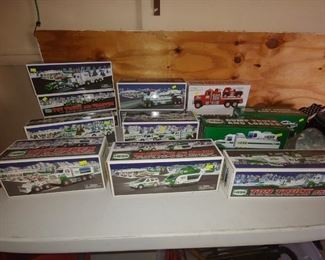 Hess Collectable Toy Trucks, Several Different Models