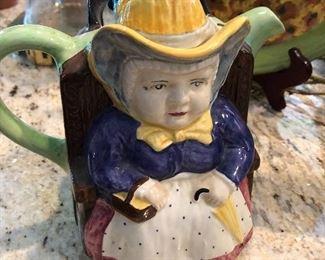 Tea pot, HJ Wood Ltd, Burolem England